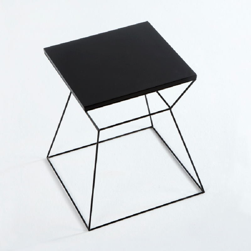 Auxiliary Table 43X43X45 Metal Mdf Black - image 53717