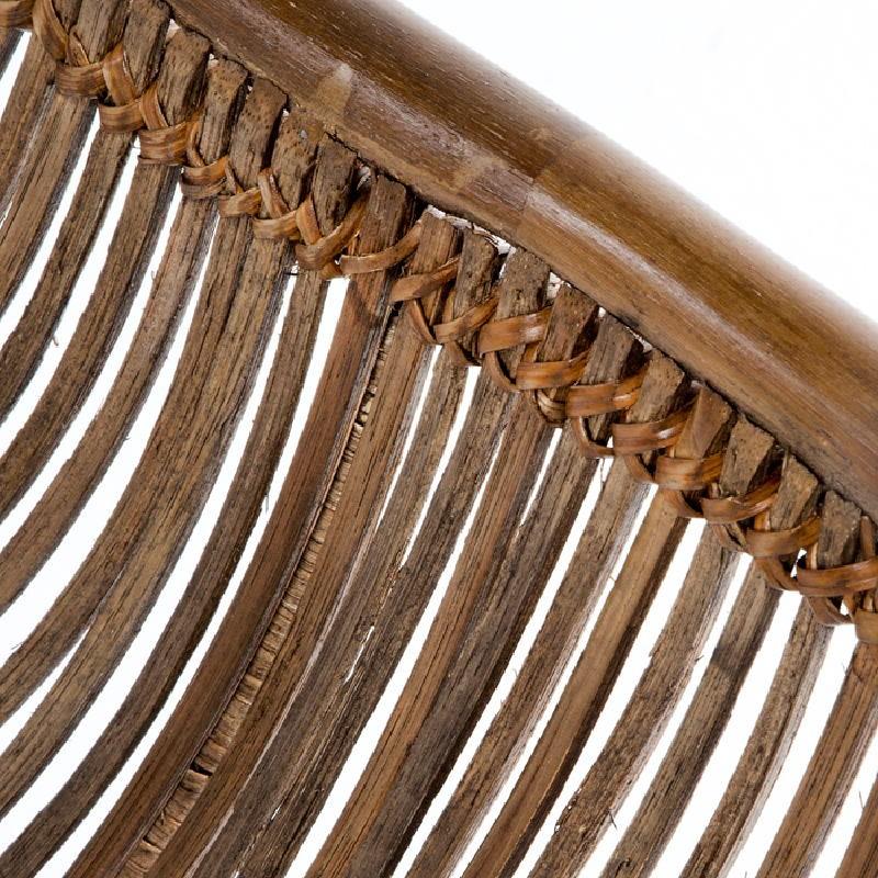 Sedia 53X71X81 Metallo Vimini Marrone - image 53732