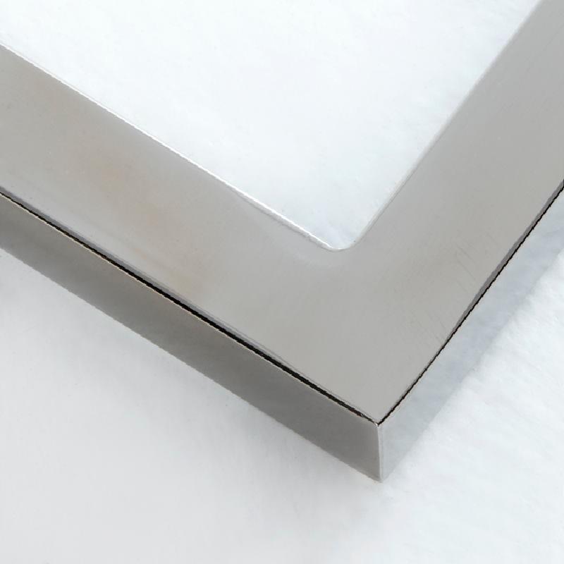 Comodino 50X40X54 Acciaio Mdf Bianco - image 53738