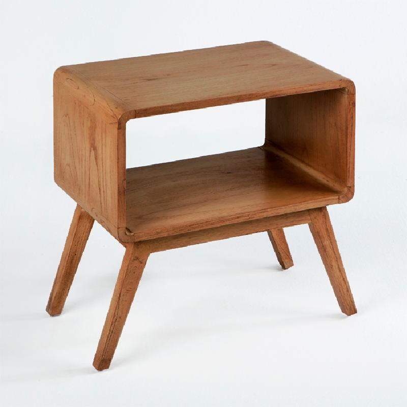 Table de chevet 50x35x51 Bois Marron