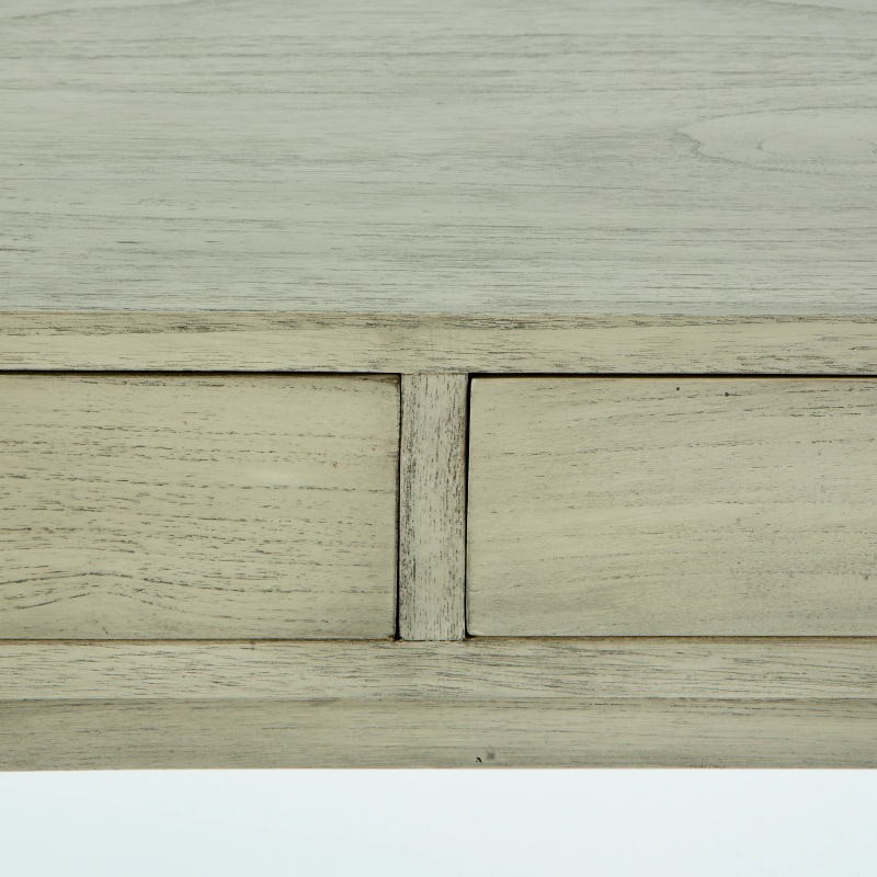 Schreibtisch 120X55X76 Verschleiertes Graues Holz - image 53763
