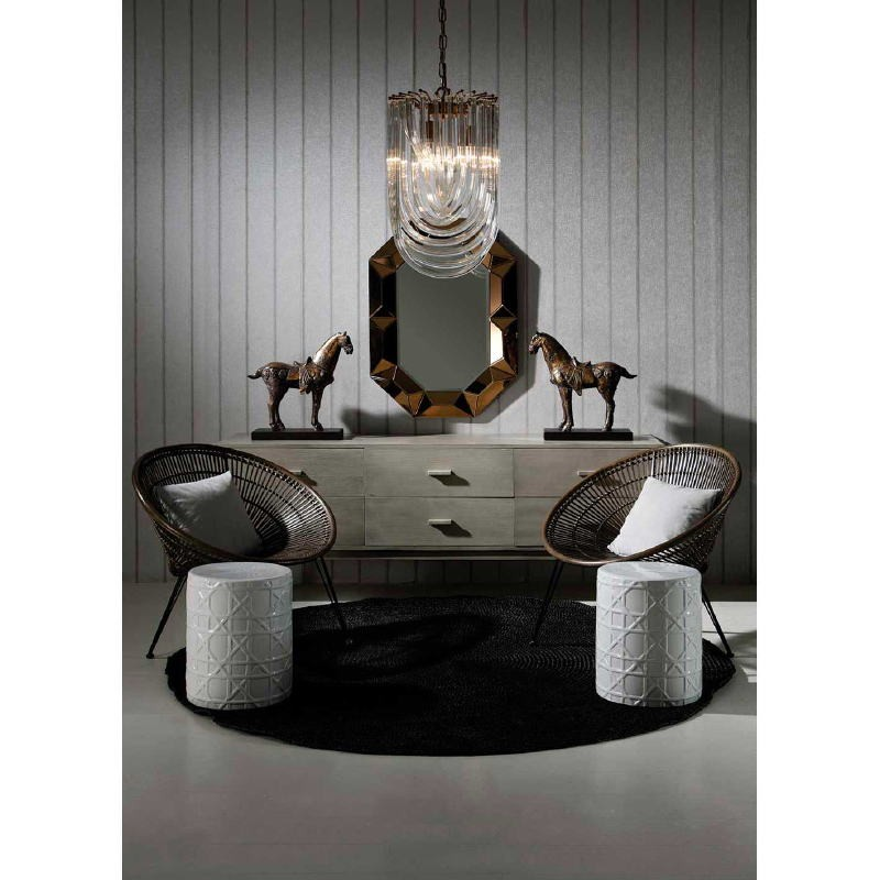 Sideboard 200X50X75 Wood Grey Veiled - image 53787