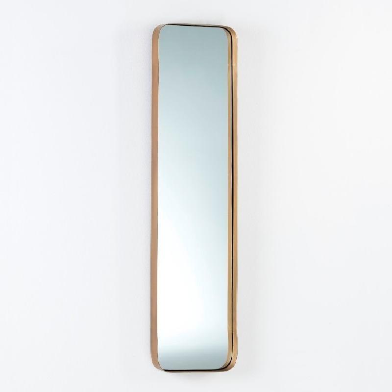 Miroir 30x5x120 Métal Doré