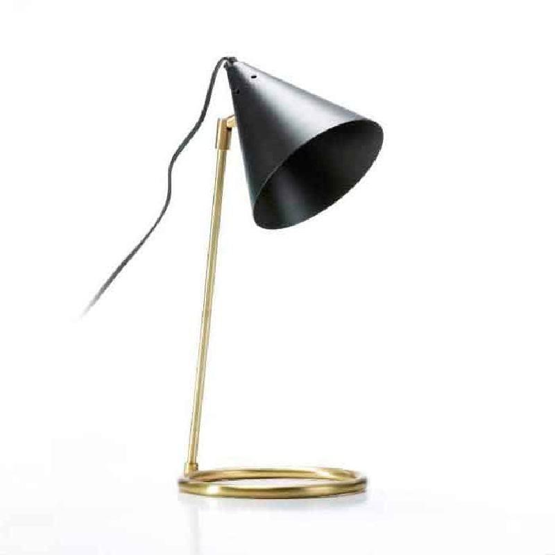 Lampe de Table 19x17x45 Métal Noir Bronze