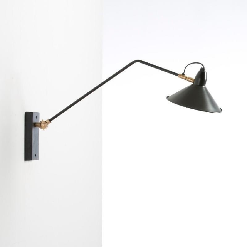 Wall Lamp 75X19X37 Metal Black - image 53833