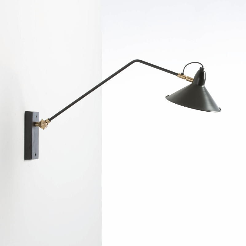 Wall Lamp 75X19X37 Metal Black - image 53834