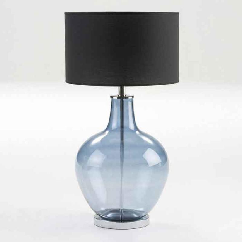 Lampe Auf Tisch Ohne Bildschirm 34X57 Glas Blau