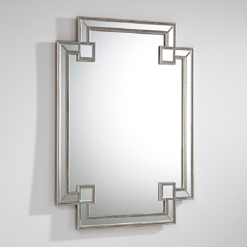 Miroir 89x2x121 MDF Argent - image 53903