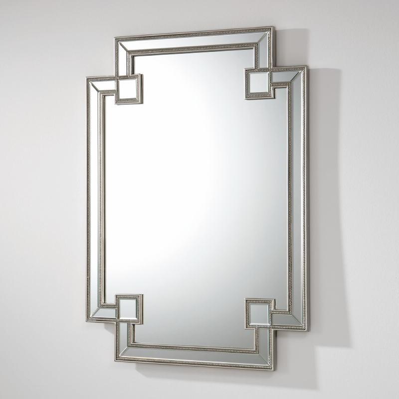 Miroir 89x2x121 MDF Argent - image 53904
