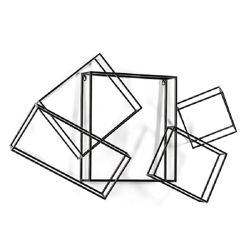 Escultura 113X17X66 Metal Oro Negro - image 53935