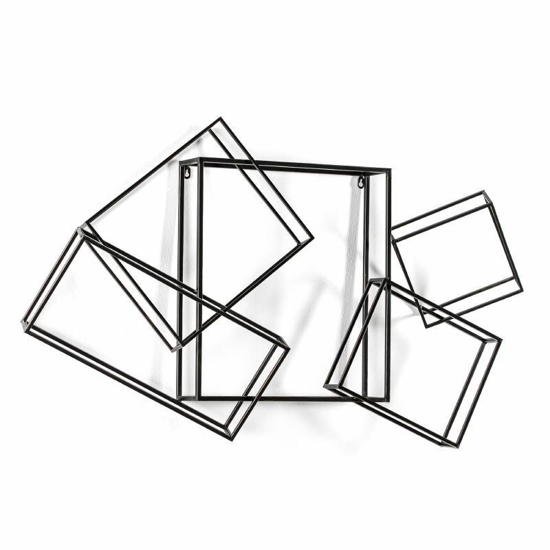 Escultura 113X17X66 Metal Oro Negro - image 53936