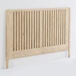 Headboard 162X3X110 Wood White Veiled