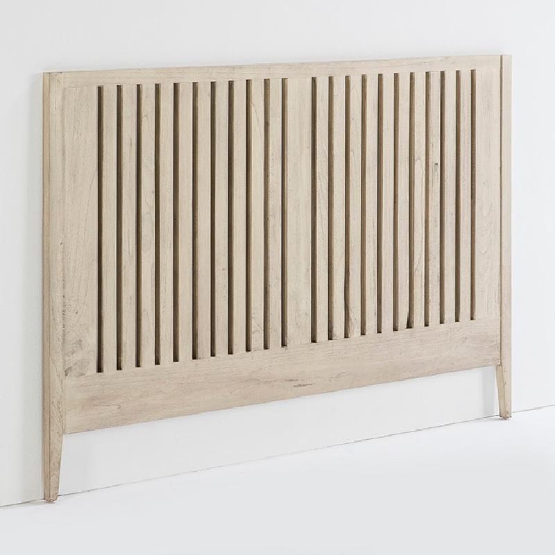 Kopfteil 162X3X110 Holz Verschleiertes Grau
