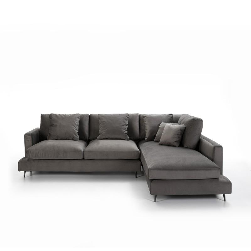 Canapé d'angle 3 places 281x215x87 cm - image 53994