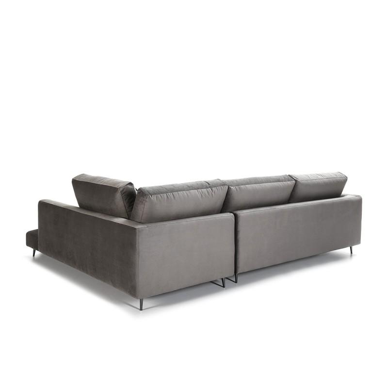 Canapé d'angle 3 places 281x215x87 cm - image 53995