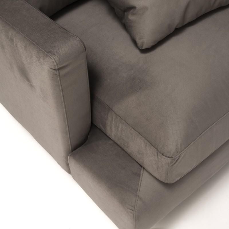 Canapé d'angle 3 places 281x215x87 cm - image 53996
