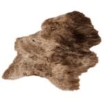Peau de mouton islandais XXL ICELAND (marron)