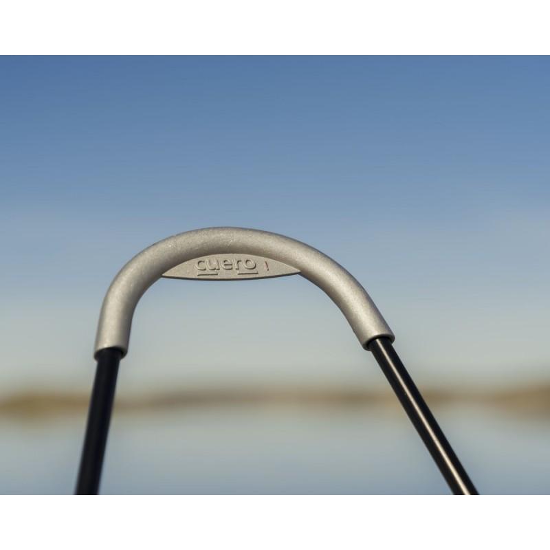 Garten Schmetterling Sessel aus Stoff Sumbrella SUNSHINE MARIPOSA Fuß Schwarz Metall (atlantisches Blau) - image 54115